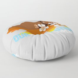 Our Revolution Turlock Floor Pillow