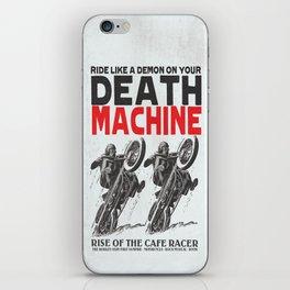 Death Machine iPhone Skin
