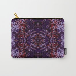 Abstract Colorful Camouflage Mandala Art - Noroma Carry-All Pouch
