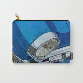 Classic Retro Car Art Series #1 in Harbor Blue Carry-All Pouch