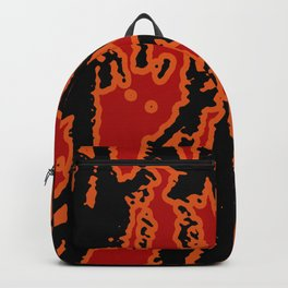 Vivid Abstract Grunge Texture Backpack