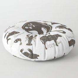 Meat Lovers Floor Pillow