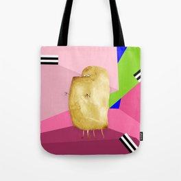 Underbite Monster Retro Tote Bag