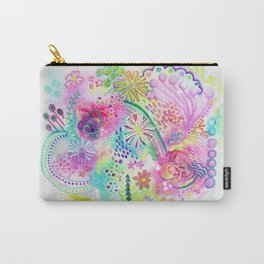 Joyfully pink Carry-All Pouch