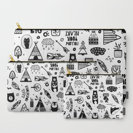 Wild And Free, Scandinavian Kids Carry-All Pouch