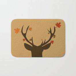 Autumn Deer Bath Mat