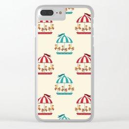 Carousel Dreams Clear iPhone Case