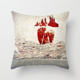 Adobe Angel II Throw Pillow