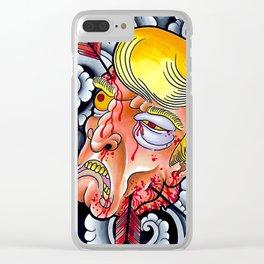 Greatest Namakubi Clear iPhone Case