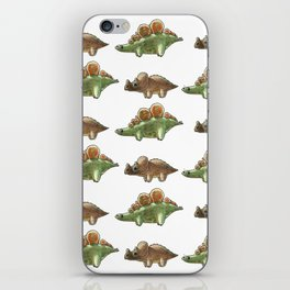 The dino pattern iPhone Skin