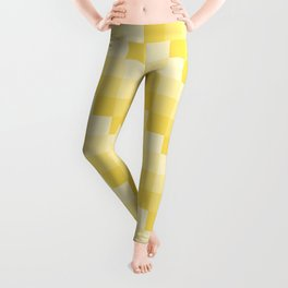 Four Shades of Yellow Square Leggings