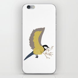 Bæremeis (Great tit carrier ?  :)   ) iPhone Skin