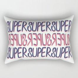 SUPER ≈ SÜPER Rectangular Pillow