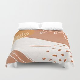 clay & sand Duvet Cover