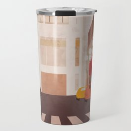 New York Manhattan watercolor Travel Mug