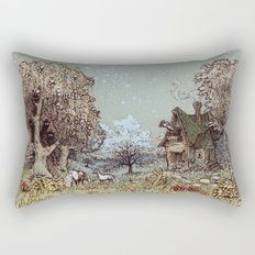 The Gardens of Astronomer Rectangular Pillow