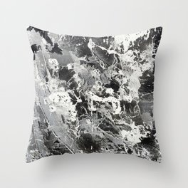 Two Toned Death Throw Pillow
