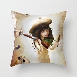 The Little Sharpshooter Throw Pillow
