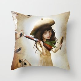 The Little Sharpshooter Throw Pillow
