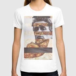 Egon Schiele's Self Portrait with Bare Shoulder & James D. T-shirt