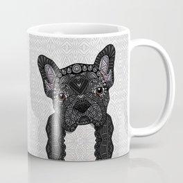 Black Frenchie 001 Coffee Mug