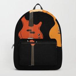Set of Guitars | Gift for Guitarist Backpack