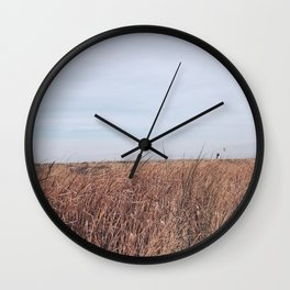 BLUE MOON II / Alviso, California Wall Clock
