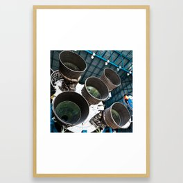 Saturn V Framed Art Print