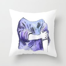 Rolled up Throw Pillow