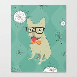 Frank the Frenchie Canvas Print