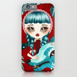 Red of the Woods iPhone Case