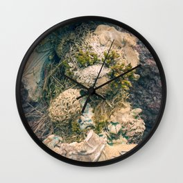 Moss & Teddy Bear Wall Clock