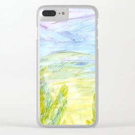 Mountains 21 Clear iPhone Case