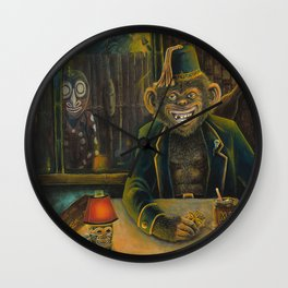 Lester Dines At The Mai Kai Wall Clock