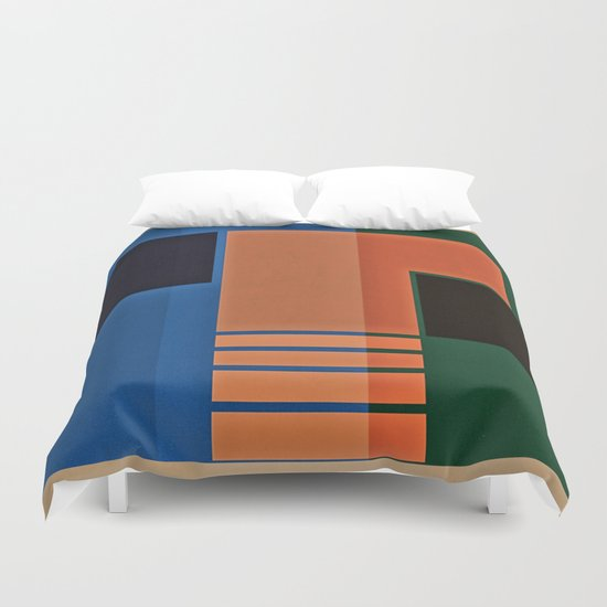 Abstract #162 Duvet Cover