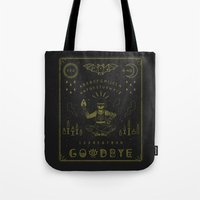 ouija Tote Bags featuring Ouija Board by LordofMasks