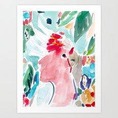 Mitchell the Cockatoo Art Print