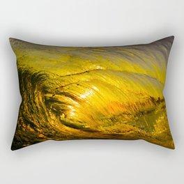 Sunset Barrel 2 ~ Newport Beach Rectangular Pillow