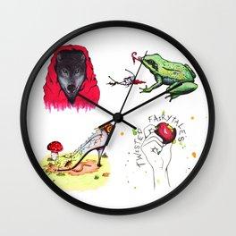 Twisted Fairy-tale Mix Wall Clock