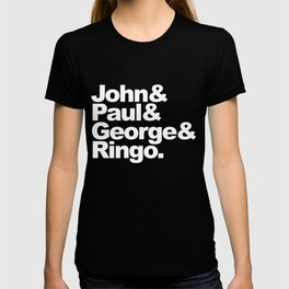 John, Paul, George & Ringo T-shirt