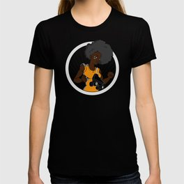 Black Roller Derby Girls Rock! T-shirt