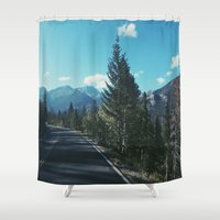 colorado Shower Curtains featuring Colorado by Gabrielle Wall
