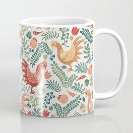 Chicken White Coffee Mug