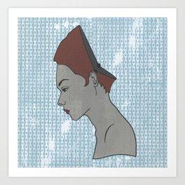 Can't Get No Retrospection (Redhead) Art Print