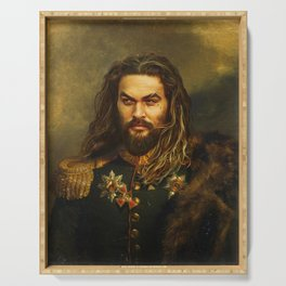 Jason Momoa - replaceface Serving Tray
