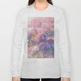 Pastel Monarchs Long Sleeve T-shirt