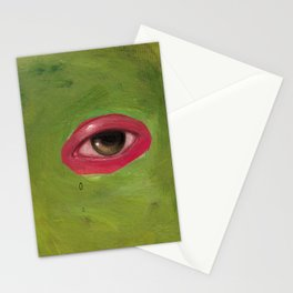 abstract eye Stationery Cards