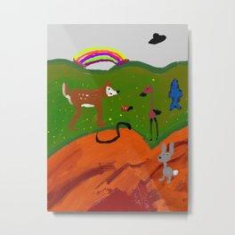 Magical happy land Metal Print