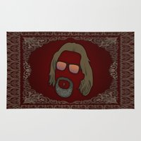 the dude Area & Throw Rugs featuring Dude by DE.FE.