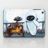 wall e iPad Cases featuring Wall-E by Agui-chan